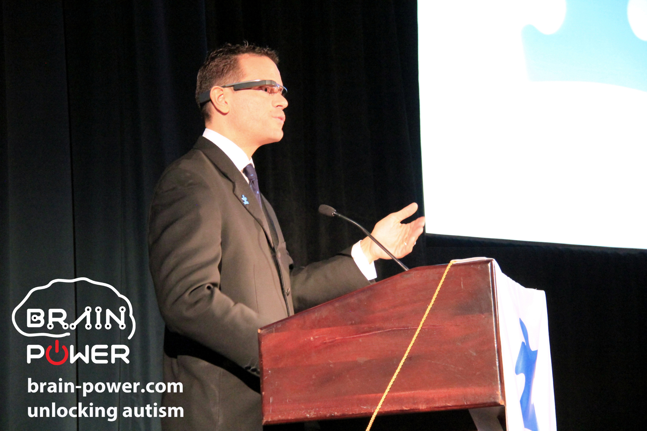 Ned Sahin UN Keynote hosted by Google and Autism Speaks